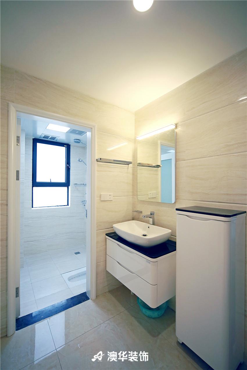 欧式 北欧 四居 白领 收纳 80后 卫生间图片来自澳华装饰有限公司在清江泓景·解密浪漫北欧风的分享