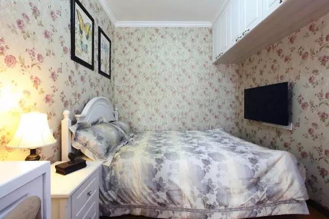简约 欧式 田园 混搭 二居 三居 别墅 白领 收纳 儿童房图片来自实创装饰晶晶在86㎡美式混搭两居室的分享