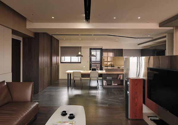 简约 小资 客厅图片来自上海潮心装潢设计有限公司在西郊景平苑81平简约风二居室装修的分享
