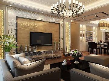 华漕125平三室两厅现代装修风格