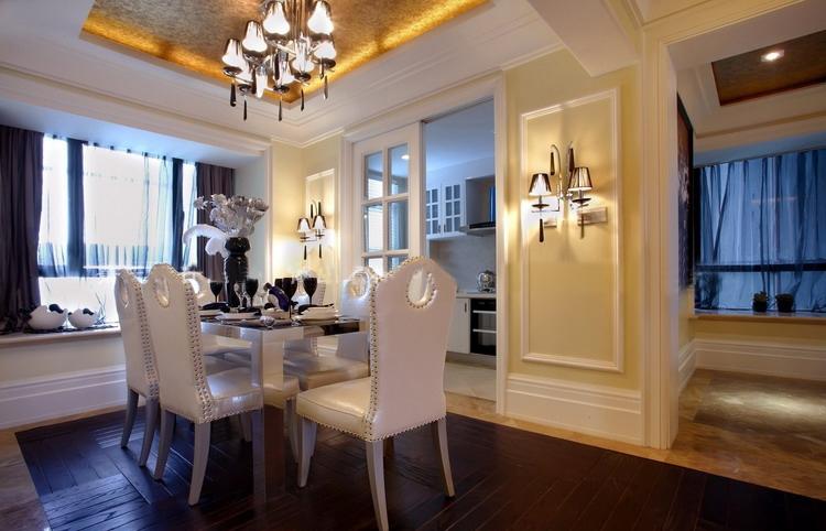 金沙高尔夫 大业美家 效果图 装饰公司 187平 欧式风格 餐厅图片来自158xxxx9432在金沙高尔夫官邸装修先施工后付款的分享