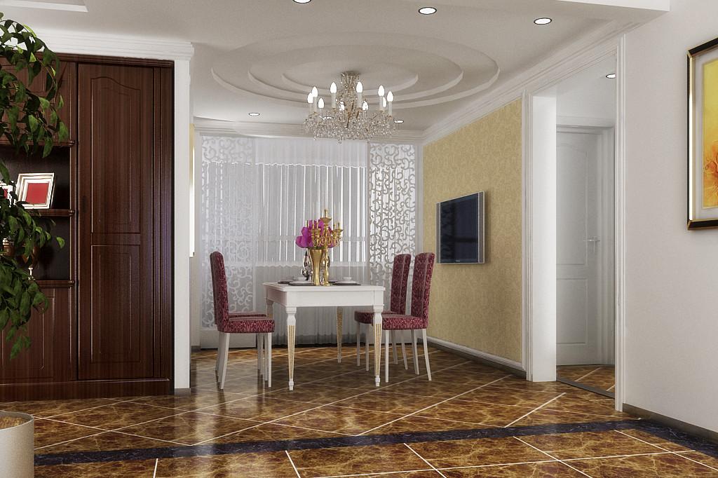 简约 现代 二居 餐厅图片来自居然元洲装饰小杨在金色漫香林复式两居现代简约的分享