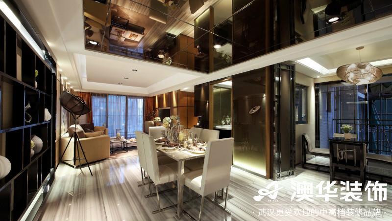 餐厅图片来自澳华装饰有限公司在武汉恒大龙墅·现代风格的分享