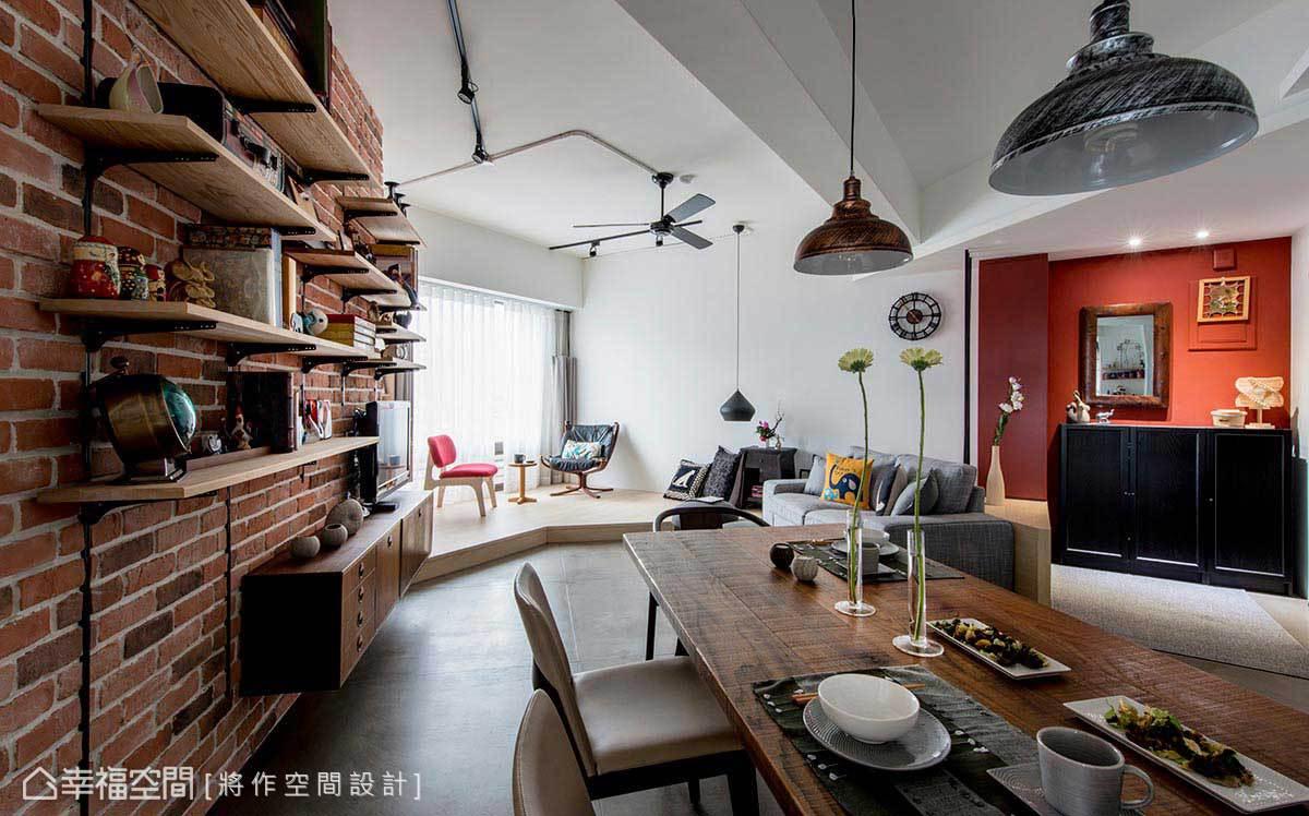 一居 工业 简约 混搭 餐厅图片来自幸福空间在Open Mind! 家自在 心自在的分享