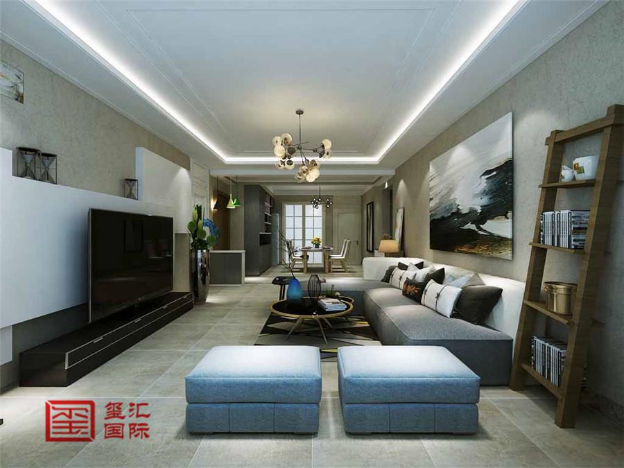 简约 三居 玺汇国际 石家庄装修 客厅图片来自河北玺汇国际装饰公司在瑞城170平三室简约风格的分享