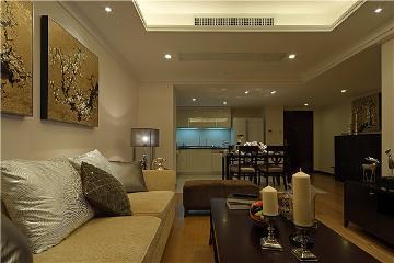 两居室简约北欧风格装修