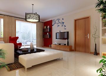 132平三居室现代简约风