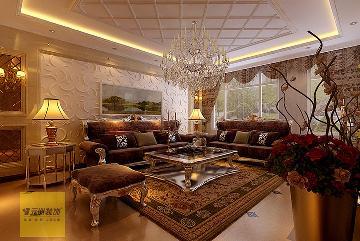 孔雀城260平米欧式风格别墅