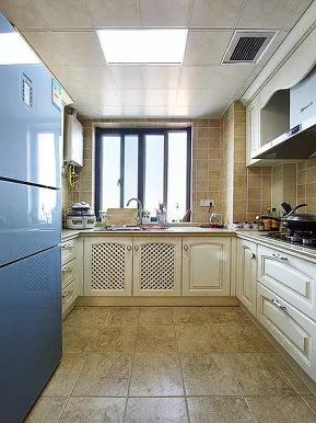 欧式 地中海 混搭 三居 收纳 旧房改造 厨房图片来自沙漠雪雨在120平米欧式地中海混搭浪漫范儿的分享