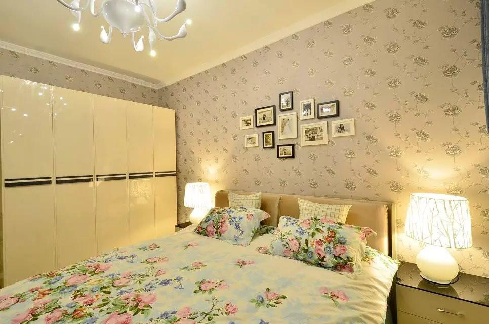 田园 简约 三居 80后 小资 卧室图片来自四川幸福魔方装饰在绿色简美系田园风格的分享