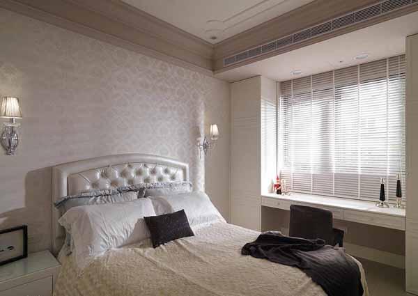 混搭 二居 卧室图片来自上海潮心装潢设计有限公司在66方平米混搭风格二居室装修案例的分享