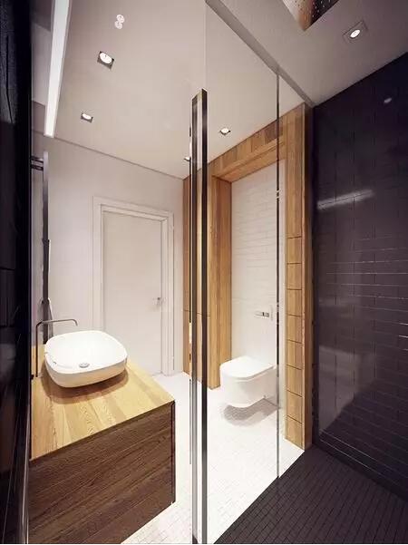简约 后现代 卫生间图片来自实创装饰上海公司在80㎡大一居,开间也能变豪宅的分享