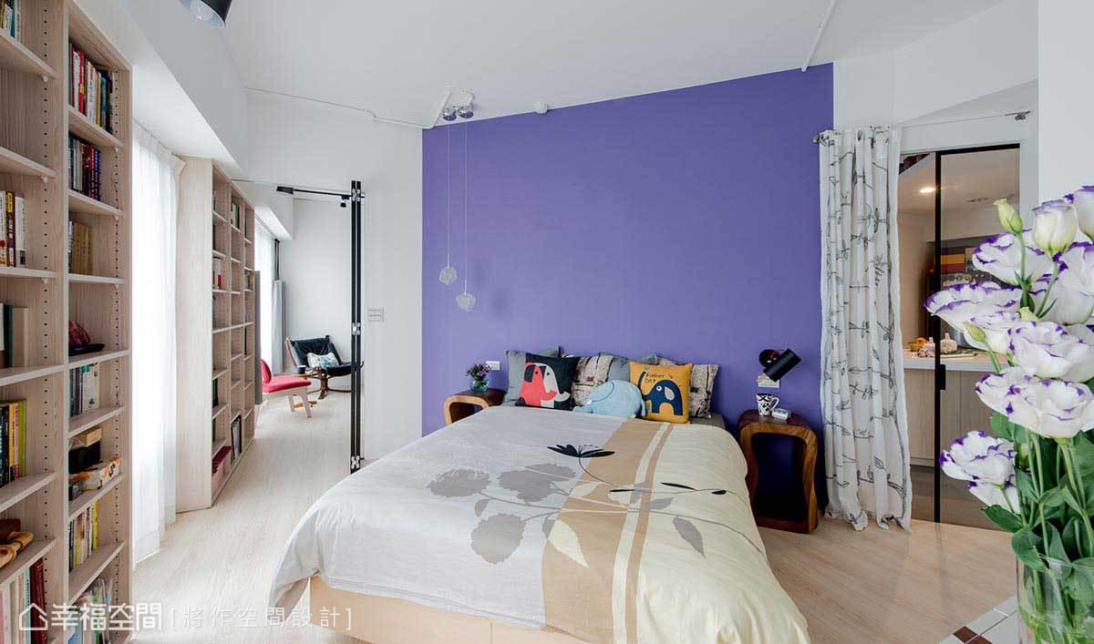 一居 工业 简约 混搭 卧室图片来自幸福空间在Open Mind! 家自在 心自在的分享