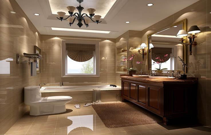 别墅 混搭 装修 设计 卫生间图片来自张邯在高度国际-鲁能七号院2的分享