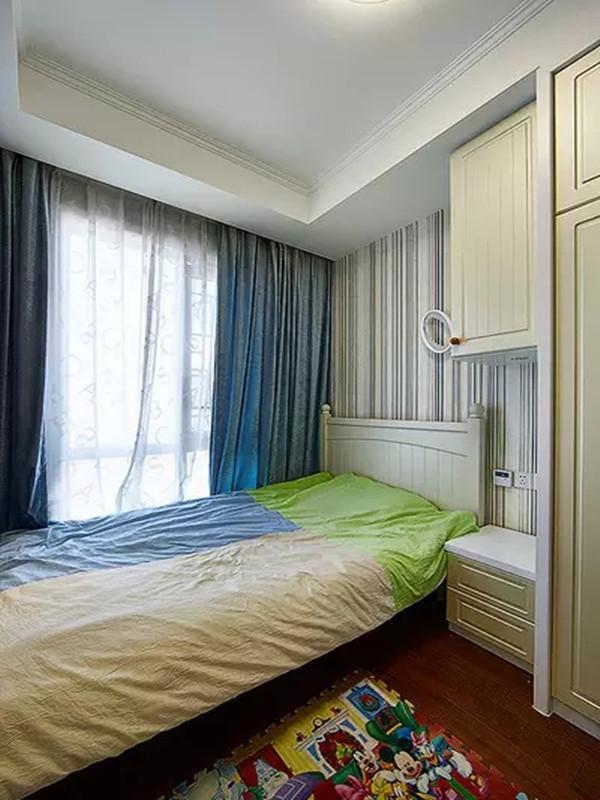 欧式 地中海 混搭 三居 收纳 旧房改造 儿童房图片来自沙漠雪雨在120平米欧式地中海混搭浪漫范儿的分享