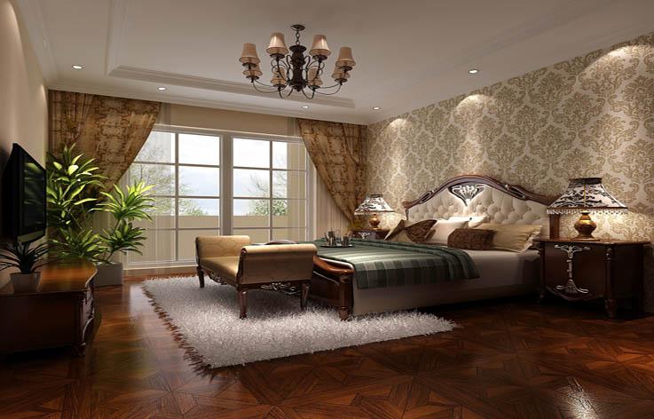别墅 混搭 装修 设计 卧室图片来自张邯在高度国际-鲁能七号院2的分享