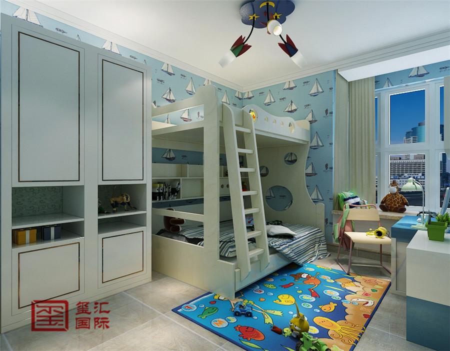 简约 三居 玺汇国际 石家庄装修 儿童房图片来自河北玺汇国际装饰公司在瑞城170平三室简约风格的分享