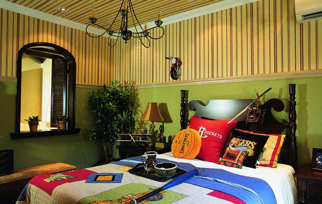 美式 四居 考究 豪宅 儿童房图片来自重庆天地和豪装工厂店在殷实而丰盛的美式豪宅的分享