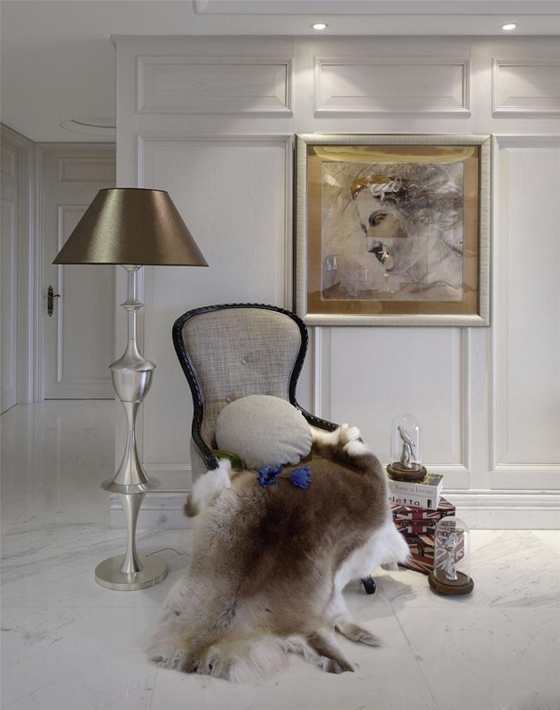 简约 欧式 混搭 别墅 收纳 玄关图片来自张勇高级室内设计师在泛海国际简欧设计案例效果分享的分享