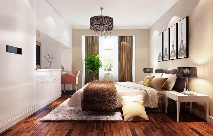 装修 设计 二居 港式 白领 卧室图片来自张邯在高度国际-中景江山赋的分享