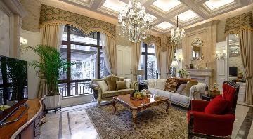 鲁能泰山七号别墅欧式设计案例