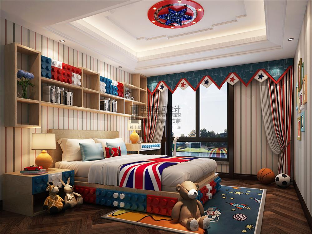 雅居乐星爵 别墅 设计 装修 申远 新古典 四居 儿童房图片来自申远-小申在雅居乐星爵别墅  典雅古典风的分享