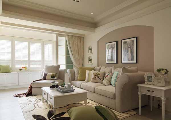 三居 旧房改造 阳台图片来自上海潮心装潢设计有限公司在132平美式风格三居室装修设计的分享