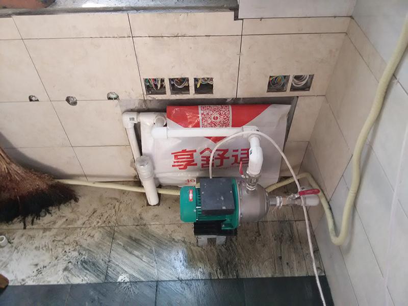 简约 卫生间图片来自嘉德顺禾在享舒适德国瑞好地暖铺设现场的分享