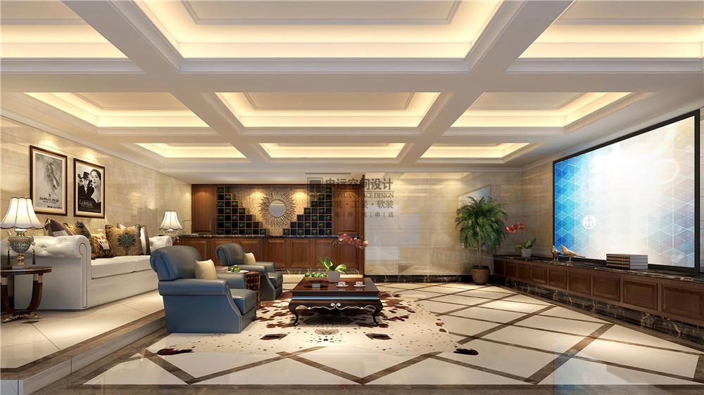雅居乐星爵 别墅 设计 装修 申远 新古典 四居 客厅图片来自申远-小申在雅居乐星爵别墅  典雅古典风的分享
