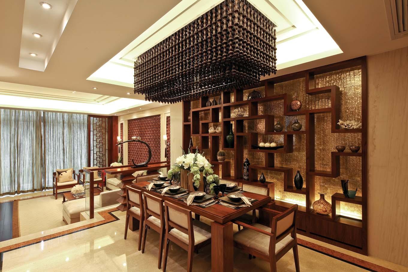 别墅 新中式 80后 典雅 餐厅图片来自fy1831303388在江南宅院的分享