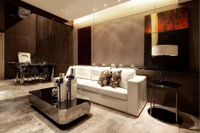 复式 三居 小资 客厅图片来自九鼎建筑装饰工程有限公司成都分在中德英伦联邦120平简约风的分享