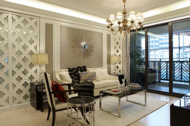 三居 白领 80后 小资 客厅图片来自武汉全有装饰在海林广场--120平--后现代的分享
