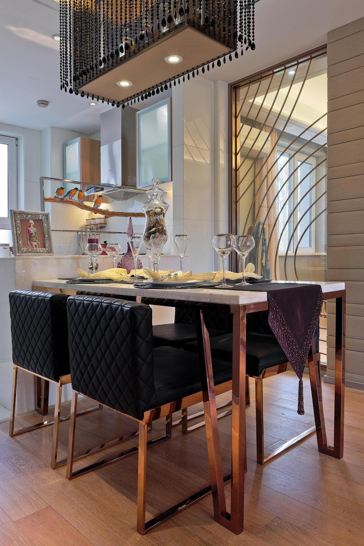 餐厅图片来自澳华装饰有限公司在汇悦天地·现代简约风格的分享