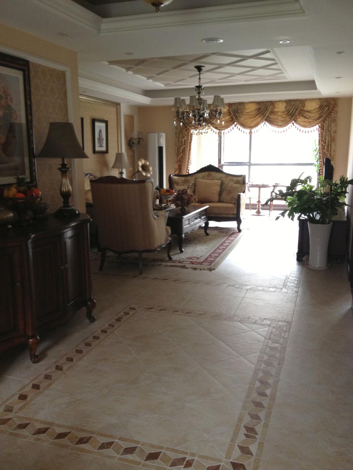 元洲装饰 美式风格 山语城 别墅 旧房改造 欧式 混搭 元洲 居然元洲 客厅图片来自北京居然元洲装饰小尼在山语城160平美式风格实景的分享