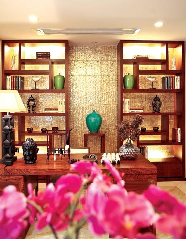 别墅 新中式 80后 典雅 书房图片来自fy1831303388在江南宅院的分享