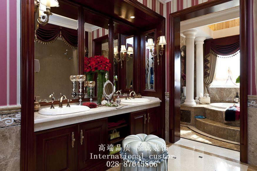三居 美式 典雅 高贵 大气 装饰 卫生间图片来自fy1831303388在彩叠园的分享