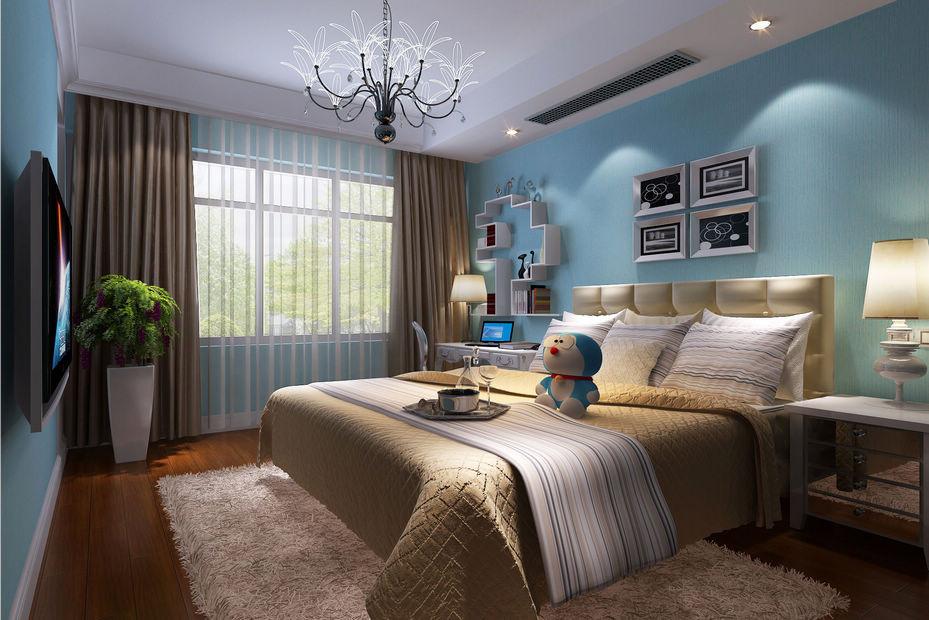 卧室图片来自北京居然元洲装饰小尼在融科钧廷简欧风格三居室的分享