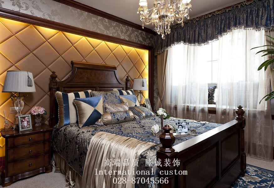三居 美式 典雅 高贵 大气 装饰 卧室图片来自fy1831303388在彩叠园的分享