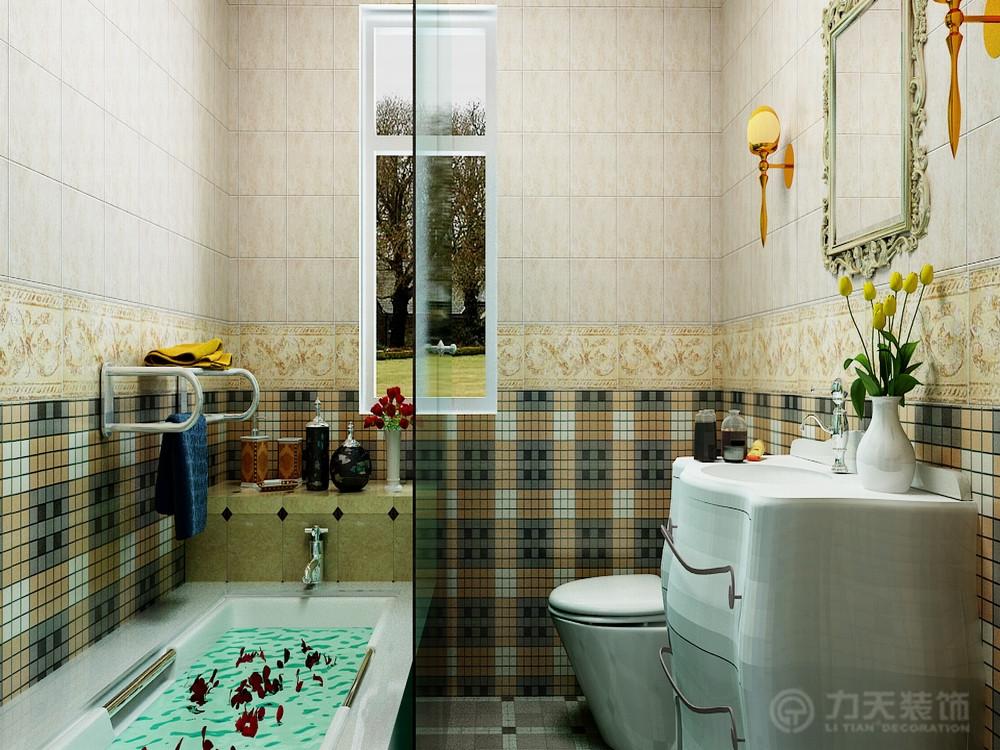 卫生间图片来自阳光力天装饰在简欧风格 天骥筑璟  117㎡的分享