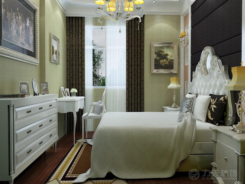 卧室图片来自阳光力天装饰在简欧风格 天骥筑璟  117㎡的分享