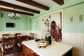 田园 英式 温馨 舒适 复式 收纳 厨房图片来自fy1831303388在西贵堂的分享
