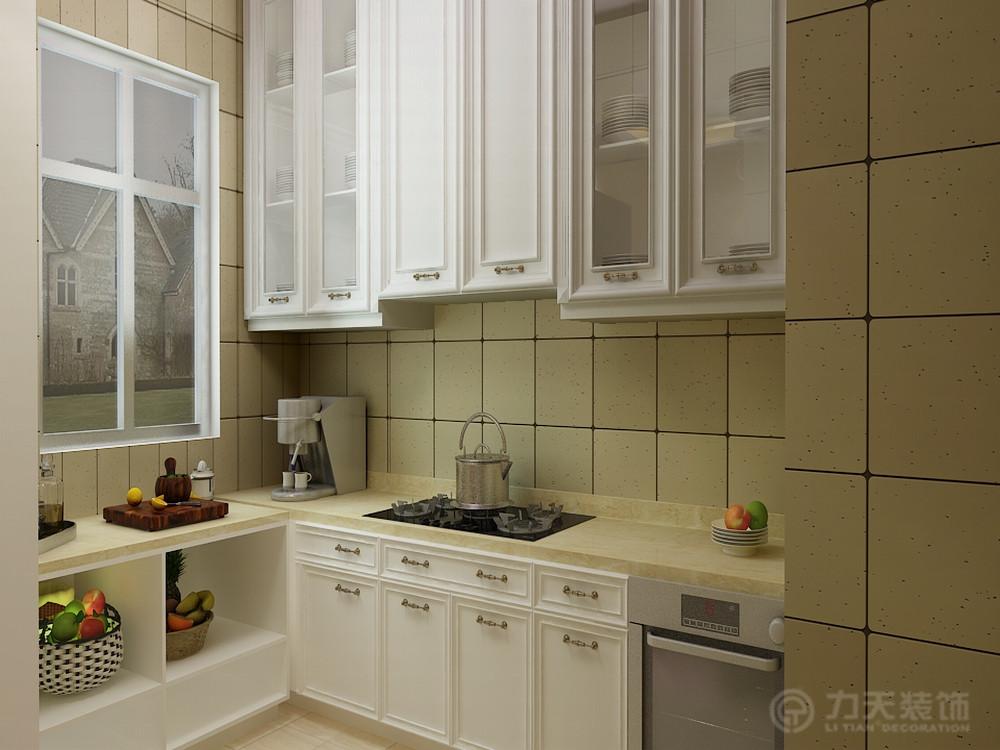 厨房图片来自阳光力天装饰在简欧风格 天骥筑璟  117㎡的分享
