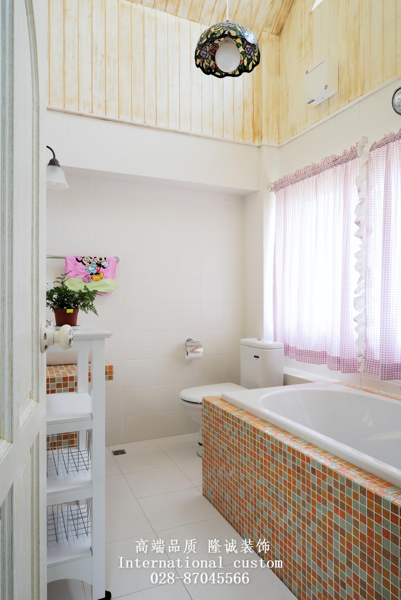 田园 英式 温馨 舒适 复式 收纳 儿童房图片来自fy1831303388在西贵堂的分享