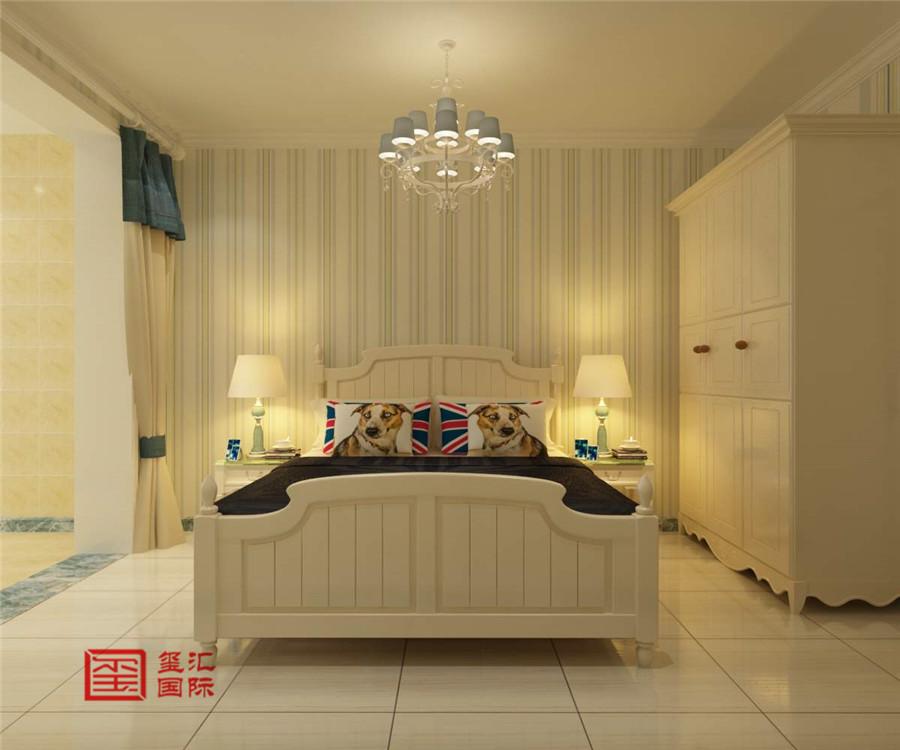 混搭风格 三室 玺汇国际 石家庄装修 卧室图片来自河北玺汇国际装饰公司在卓达明郡140平三室混搭风格的分享