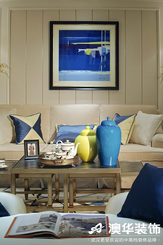 客厅图片来自澳华装饰有限公司在华润中央公园·现代简约的分享