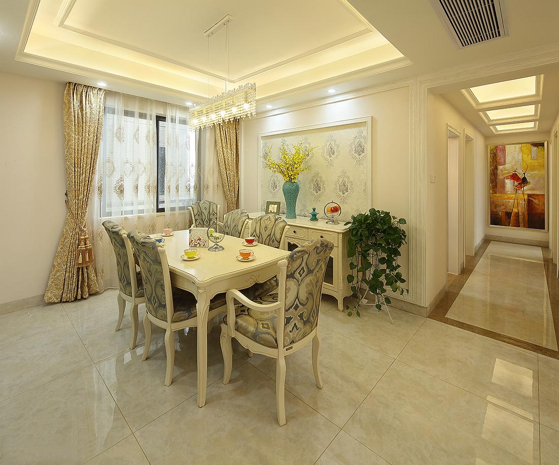 三居 餐厅图片来自金煌装饰有限公司在17万装出156平唯美简欧小豪宅的分享