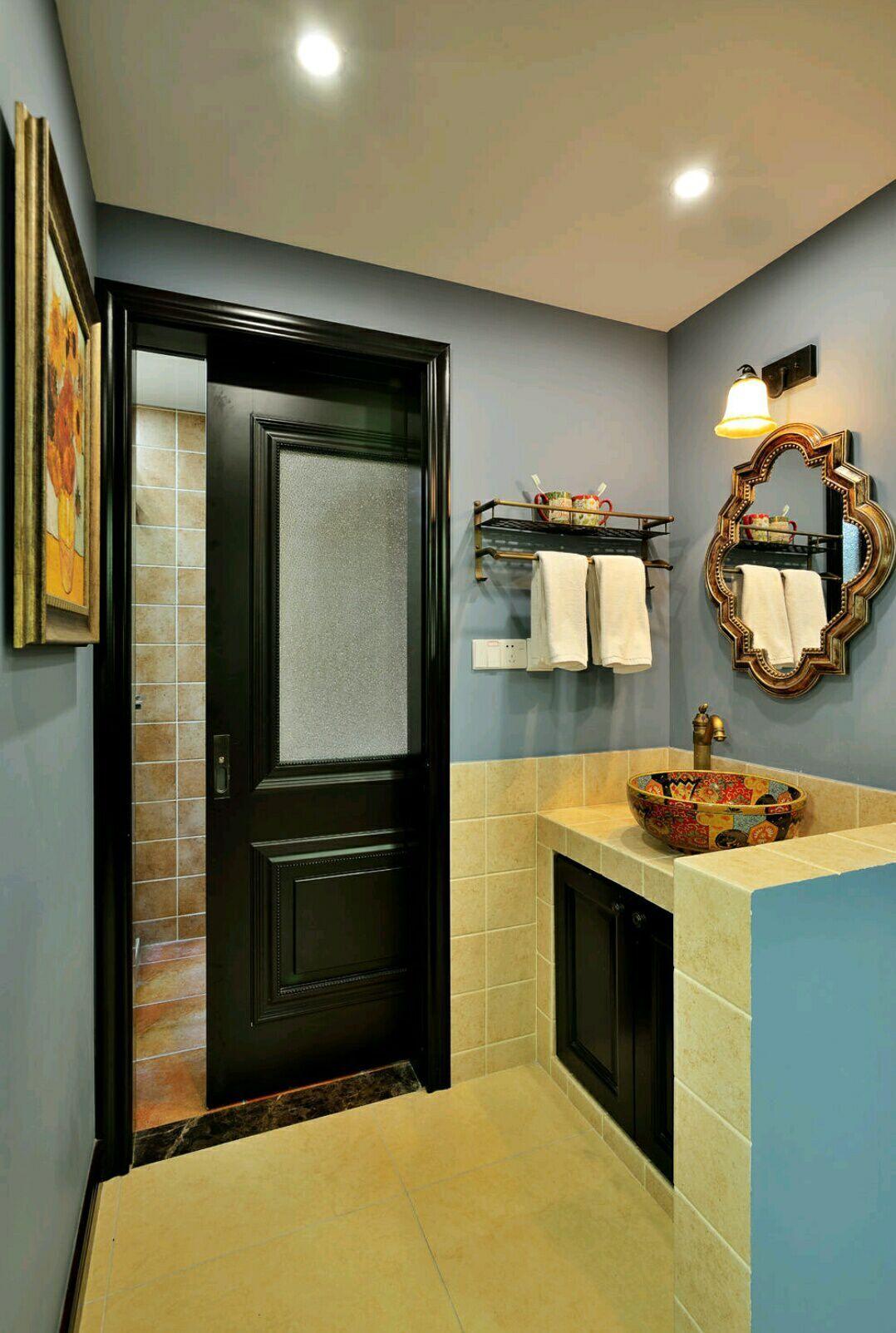 四居室 美式风格 兰亭时代 嘉年华装饰 140平 卫生间图片来自武汉嘉年华装饰在空间感超强的美式风格的分享