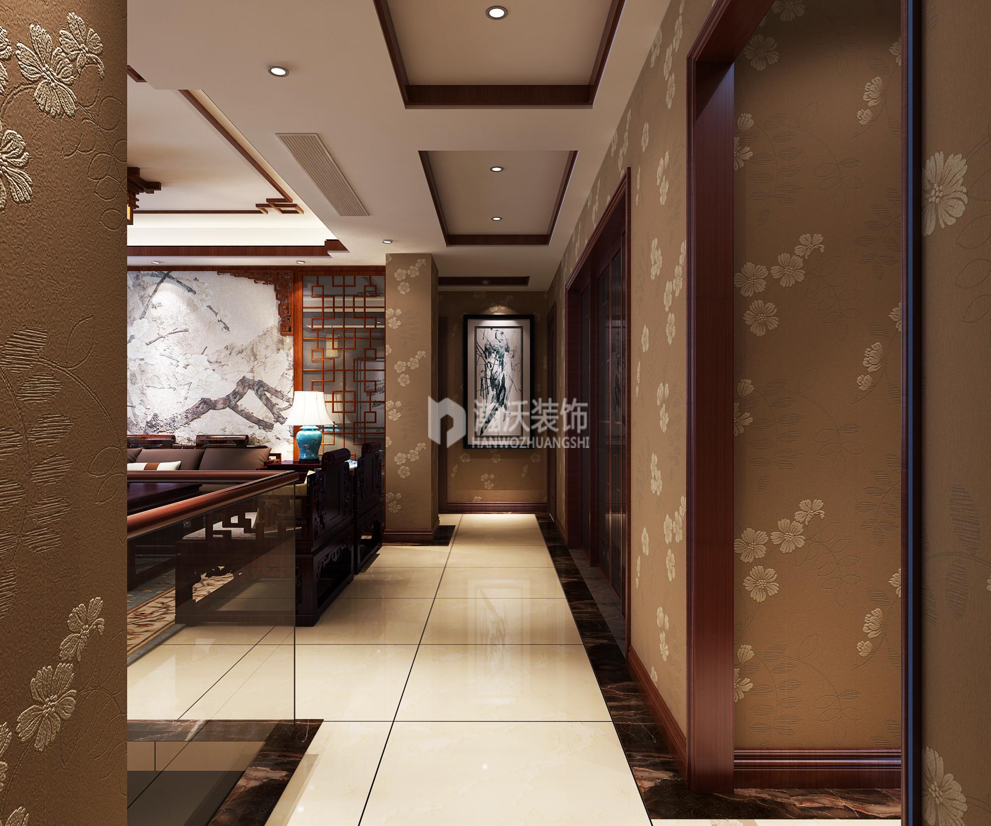 别墅 中式 龙华苑 其他图片来自河北瀚沃装饰在龙华苑中式案例的分享