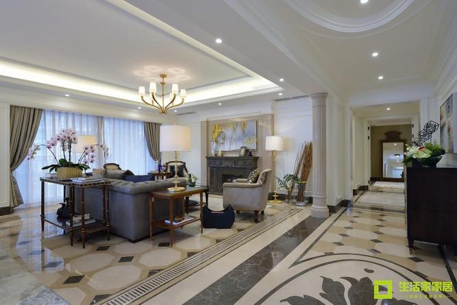 欧式 小资 收纳 白领 生活家家居 简约欧式 客厅图片来自天津生活家健康整体家装在富力津门湖 简欧的分享