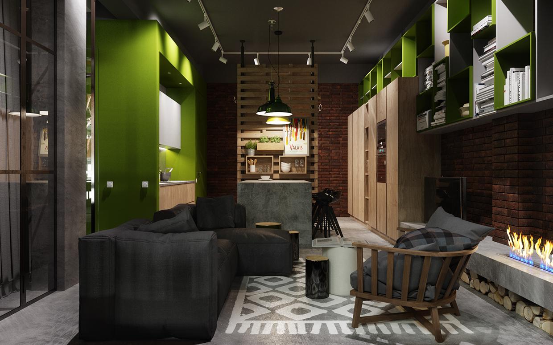 简约 日式 工业风 农光里 旧房改造 80后 二居 京扬尚赫 北京装修 书房图片来自京扬尚赫装饰设计中心在农光里64平米日式工业风的分享